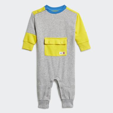 Børn Fitness Og Træning Grå adidas x LEGO® DUPLO® sparkedragt