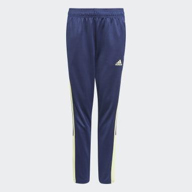 Pantalon de survêtement Tiro Bleu Adolescents Soccer