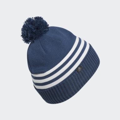 Bonnet adidas Pom Bleu Hommes Golf