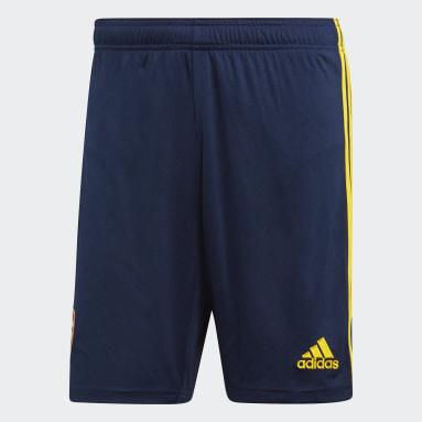 Shorts Visitante Arsenal Azul Hombre Fútbol