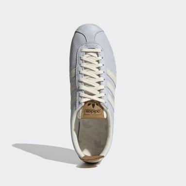Originals Gazelle Vintage Schuh Blau