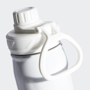 Training White Steel Metal Bottle 600 ML