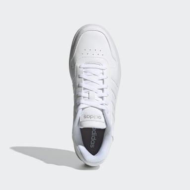 Tenis Hoops 2.0 Blanco Mujer Essentials