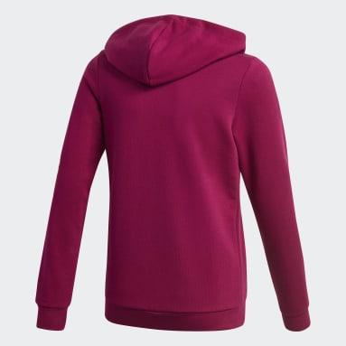 Hoodie Linear Bordeaux Ragazza Sportswear