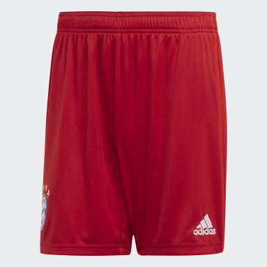 Shorts Uniforme Titular FC Bayern Rojo Hombre Fútbol