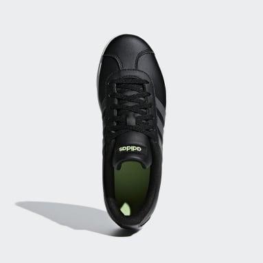 Kids Essentials Black VL Court 2.0 Shoes