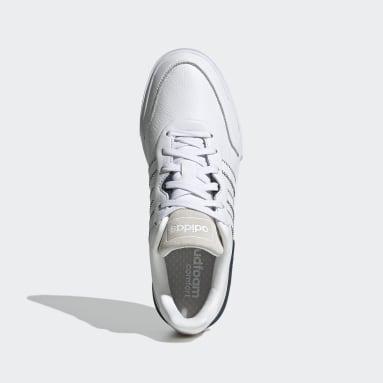 Men Sport Inspired White Clubcourt Shoes