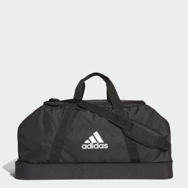 Fotbal černá Taška Tiro Primegreen Bottom Compartment Duffel Large