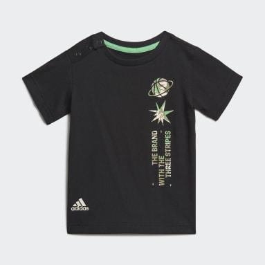 черный Комплект: футболка и шорты Summer