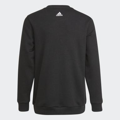 Kinder Sportswear adidas Essentials Logo Sweatshirt – Genderneutral Schwarz