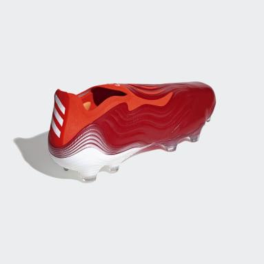 Calzado de Fútbol Copa Sense+ Terreno Firme Rojo Hombre Fútbol