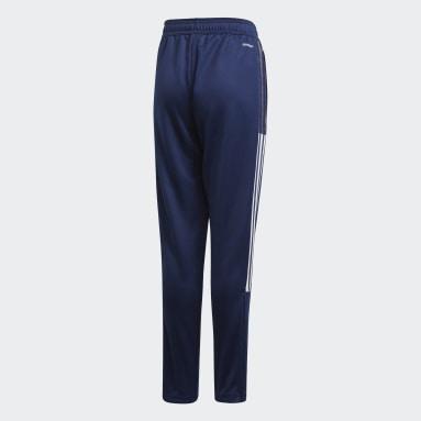 Pantalón Tiro 21 Azul Niño Fútbol