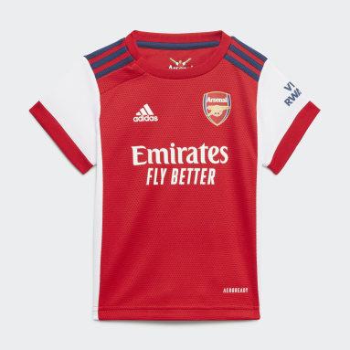 Arsenal 21/22 Hjemmedrakt, baby Hvit