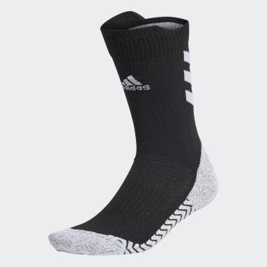 Tennis Black Alphaskin Crew Socks
