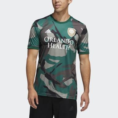 Men's Soccer Multi Orlando City Camo Pre-Match Jersey
