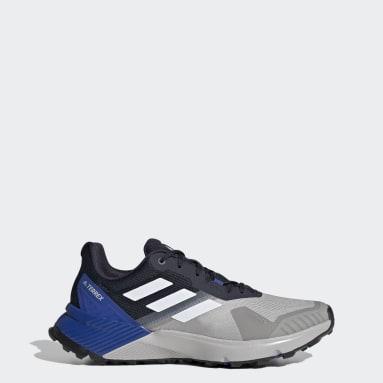 Men TERREX Grey Terrex Soulstride Trail Running Shoes
