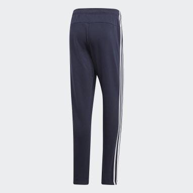 Pantalón Essentials 3 Tiras Azul Hombre Diseño Deportivo