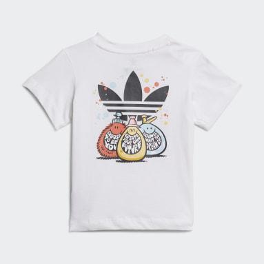 adidas Originals x Kevin Lyons T-skjorte Hvit