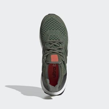 Kids Running Green Ultraboost 20 Running Shoes
