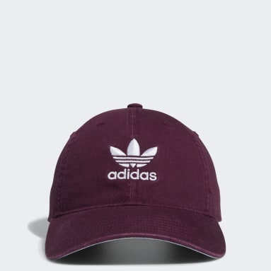 Casquette Relaxed Strap-Back rouge Hommes Originals