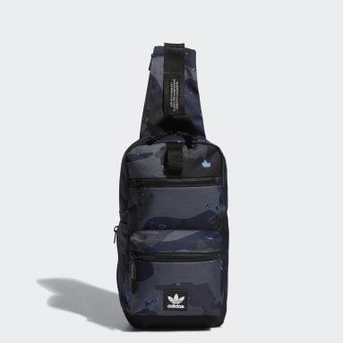 Originals Grey Utility Sling Crossbody Bag