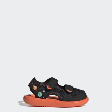 Kids Swimming Black Comfort Sandals