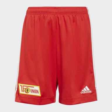 Pantalón corto primera equipación 1. FC Union Berlin 21/22 Rojo Niño Fútbol