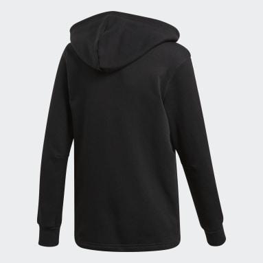 Boys Gym & Training Black Must Haves 3-Stripes Jacket
