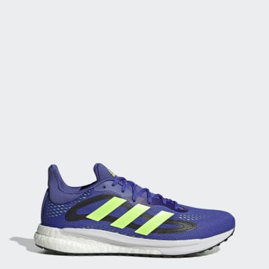 Hardlopen Blauw SolarGlide 4 Schoenen