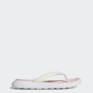 Women Swim Pink Comfort Flip-Flops