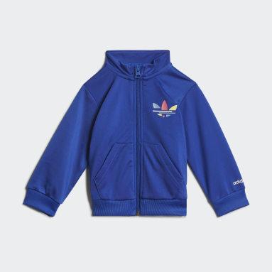 Děti Originals modrá Sportovní souprava Adicolor