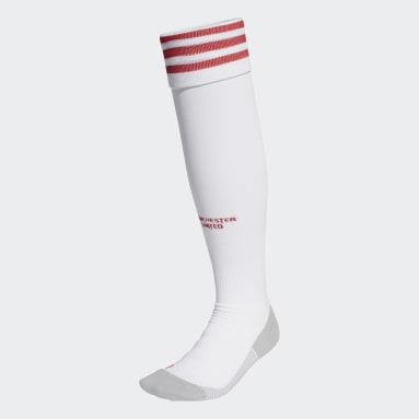 Football White Manchester United 20/21 Home Socks