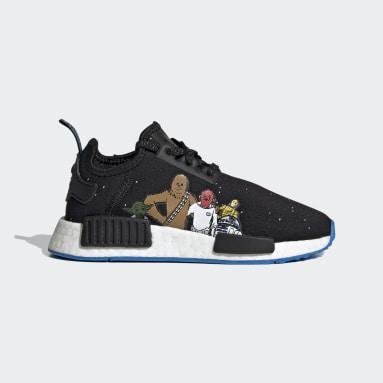Children Originals Black NMD_R1 Star Wars Shoes