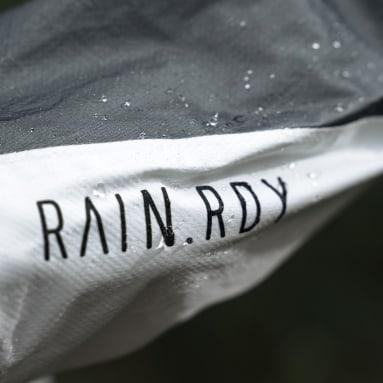 Women TERREX White Terrex Agravic Pro RAIN.RDY Trail Running Jacket