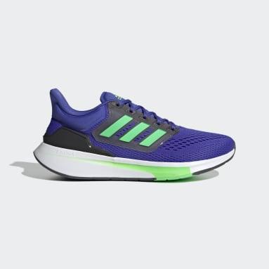 Men Running Blue EQ21 Run Shoes