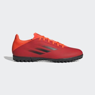 Chuteira X Speedflow.4 Society Vermelho Futebol