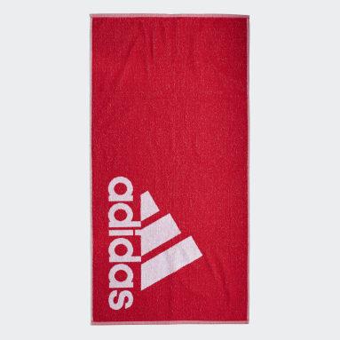 Χειμερινά Αθλήματα Κόκκινο adidas Towel Small