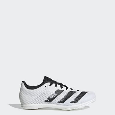 Kids Track & Field White Allroundstar Shoes