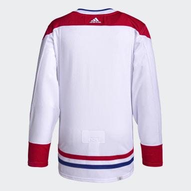 Men Hockey White Canadiens Away Authentic Pro Jersey