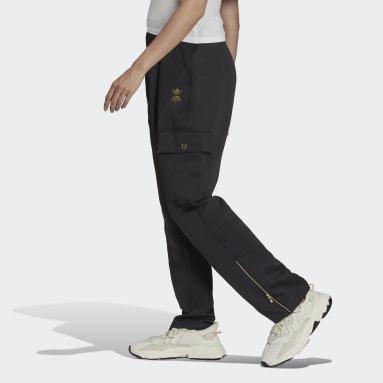 Pantaloni Cargo Nero Donna Originals