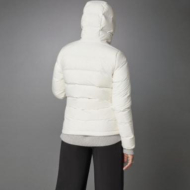Chaqueta con capucha Helionic Down Blanco Mujer Outdoor Urbano