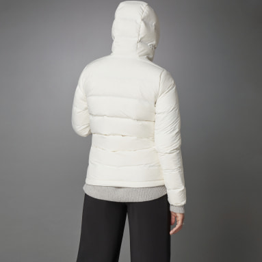 Helionic Down Jacket Bialy