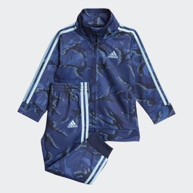 Infant & Toddler Training Blue Camo Track Jacket Set