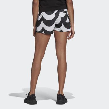 Kvinder Originals Sort Marimekko shorts