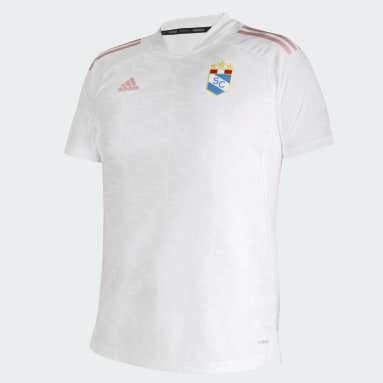 Tercera Camiseta Sporting Cristal 21/22 Blanco Mujer Fútbol