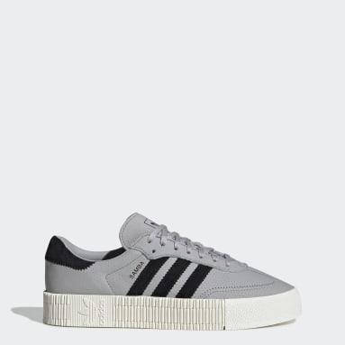 Women Originals Grey SAMBAROSE Shoes