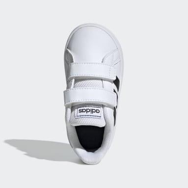Zapatillas Grand Court (UNISEX) Blanco Niño essentials