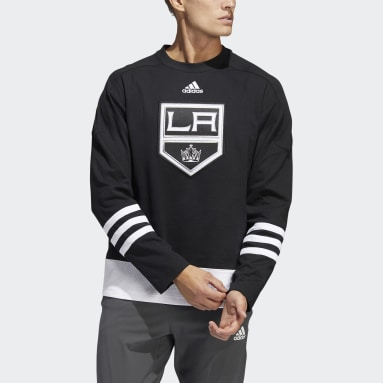 Men's Hockey Black Kings Crew Sweater