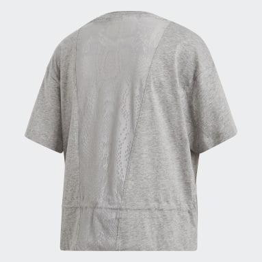Kvinder adidas by Stella McCartney Grå Graphic T-shirt