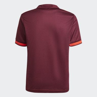 Camisa 3 Internacional 21/22 Masculina Vermelho Meninos Futebol